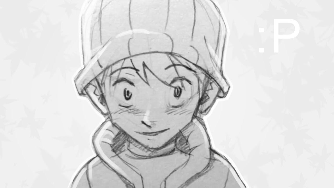 draw manga anime face