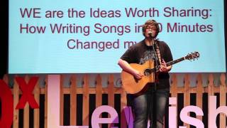 How Writing Songs in 60 Minutes Changed my Life: Judith Avers at TEDxLewisburg