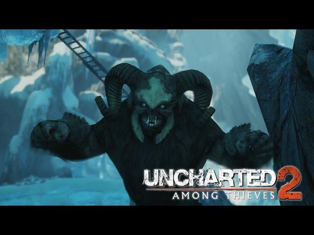 TİBETLİ CANAVAR - Uncharted 2 Among Thieves Remastered - Bölüm 8