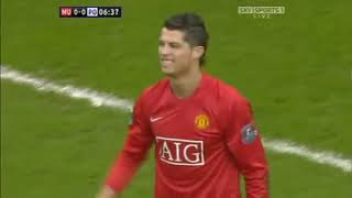 Manchester United vs Portsmouth March 8th 2008 Full Match Replay