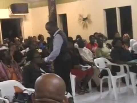 City of Faith Deliverance Center  Antigua  July 2013 Convention, Monday) Open The Flood Gates of Hea