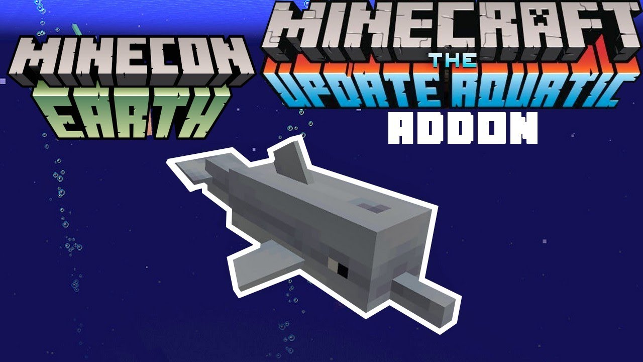 Dolphins Addon (Concept!) | Minecraft PE Mods & Addons