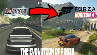 The Evolution of Forza Series (2005-2019)