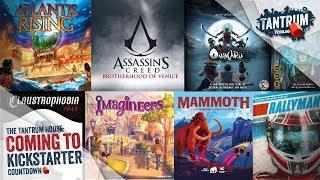 Nov 2018 (1st half) Upcoming Board Games Kickstarter