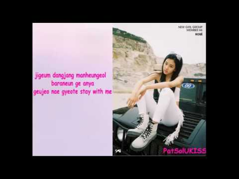 BLACKPINK - STAY Karaoke/Instrumental With Bg Vocals And Lyrics