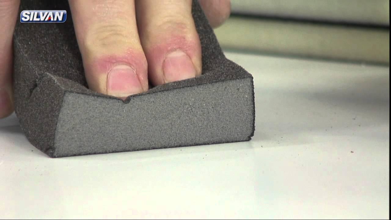 slibepapir til beton