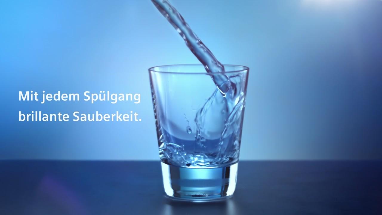 Bosch Kühlschrank Wasser Unter Gemüsefach : Siemens brilliantshine und finish quantum wasser youtube
