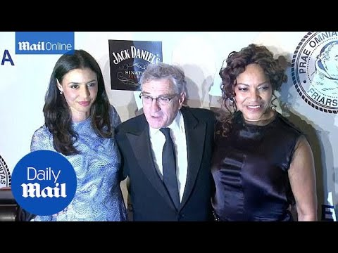 Robert De Niro takes wife and daughter to NYC gala - Daily Mail