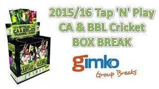 cricket 2015 16 tap n play ca bbl tcac break 24 live break 12 11 2015