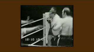 Lenny Mclean Versus Roy Shaw Unlicensed Boxing Third Fight