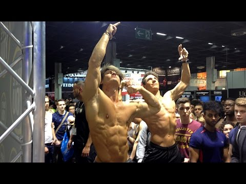 ShapeYOU @FIBO 2015-Day5 Steph, Jeff, Ryan, Harrison, Sergi, Jacko, Tom, Justin, Felix, Eugen, Harry