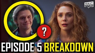 WANDAVISION Episode 5 Breakdown & Ending Explained Spoiler Review | Marvel Easter Eggs & Theories