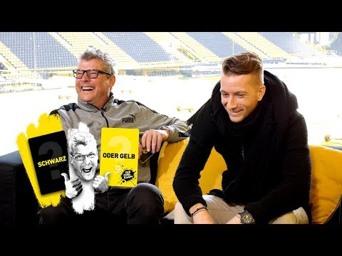 Marco Reus takes on Nobby | 'The Duel: 🖤 or 💛 ?'