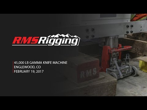 RMS Rigging - Gamma Knife Machine Project