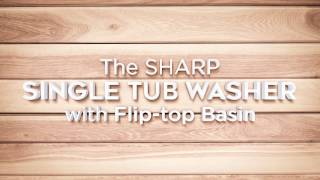 SHARP Single Tub Washing Machine