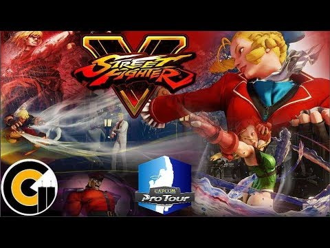 SFV CPT Montreal, Canada - Top 8 / Grand Finals ( Justin Wong, K-Brad and more )