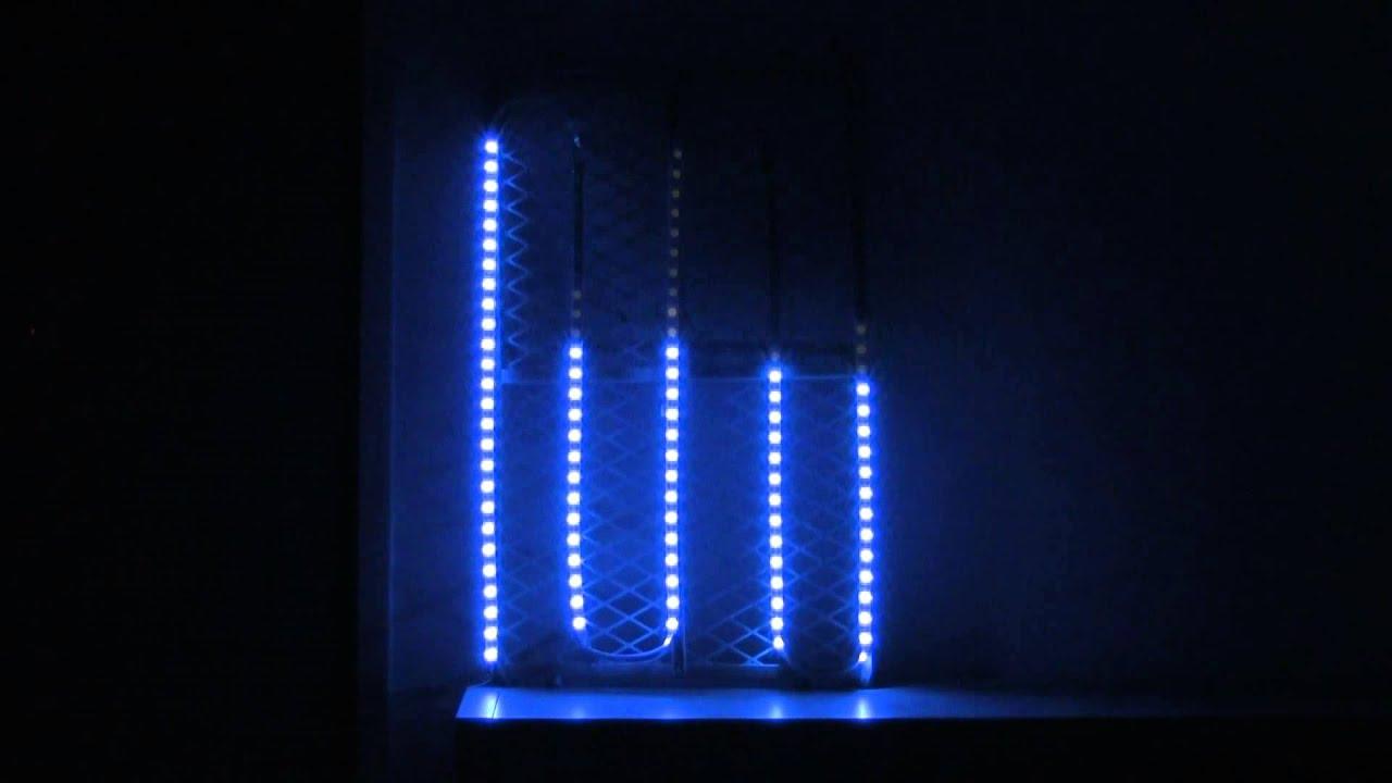 Raspberry Pi Spectrum Analyzer, w/ Python & RGB LED Strip