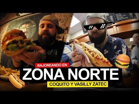 Bajoneando en Zona norte  - Coquito 🌭 y Vasilly Zatec 🍔