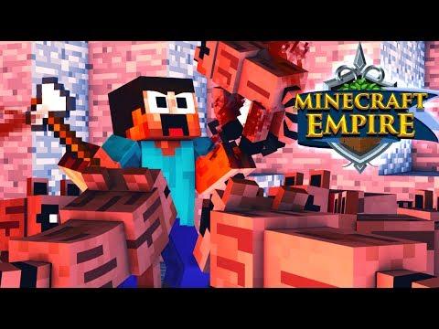 DIE WASCHBÄREN GREIFEN AN! - Minecraft EMPIRE 🍖 #107