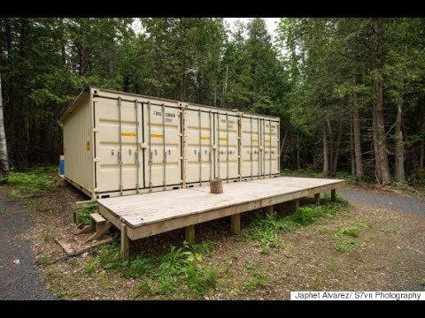 Ottawa Man Builds Shipping-Container Home To Help People 'Get Out Of Pocket Of Big Banks'