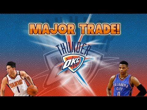 NBA 2K18 OKLAHOMA CITY THUNDER OFFSEASON REBUILD! MAJOR TRADE!