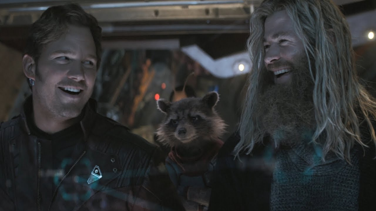 Avengers Endgame / Thor and Star-Lord Scene (Everybody Knows Who's In Charge) - YouTube