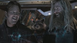 Avengers Endgame / Thor and Star-Lord Scene (Everybody Knows Who's In Charge)