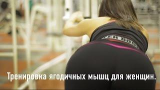 Тренировка ягодиц для женщин.
