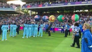 ceremony  NZ VS ENG FINAL MATCH WORLD CUP 2019