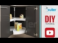 How to install kitchen carousel - Shelvo DIY tutorial