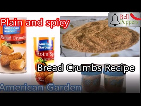 😲😲😲secret-revealed!!!!!😲😲-|crumbly-american-garden-bread-crumbs-recipe-😍😍😍-|-bell-peppers-🌶️🌶️