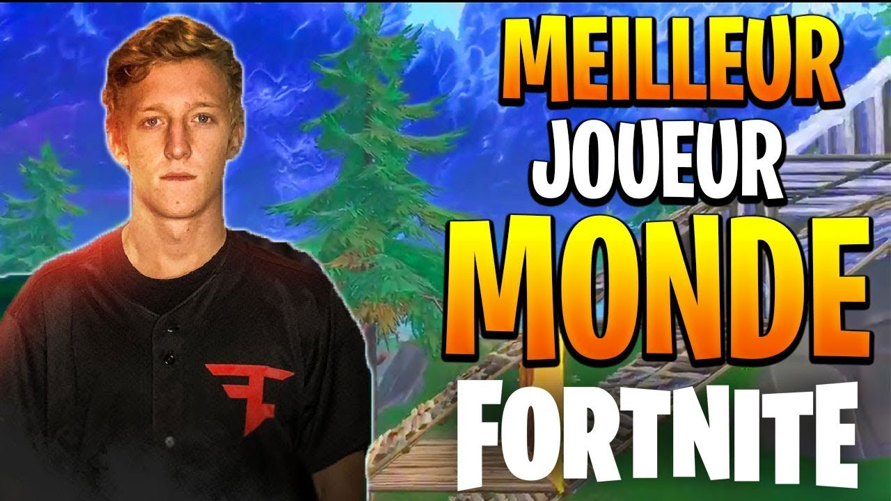 Le Meilleur Joueur Du Monde De Fortnite Battle Royale Tfue Faze Best Player