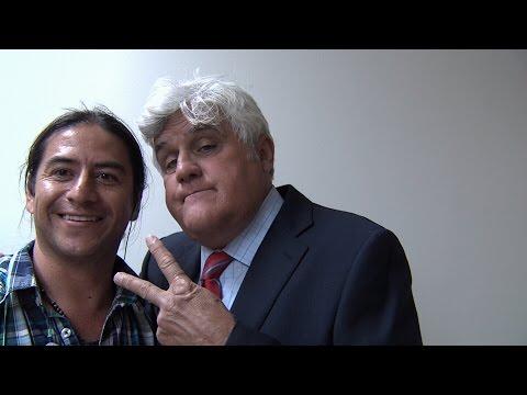 JAY LENO: Exclusive Interview KOSA-TV CBS 7 in Midland, Tx