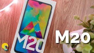 Samsung Galaxy M20: Unboxing y primeras impresiones
