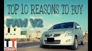 TOP 10 reasons to buy faw v2 // why it is the best hatch back in pakistan