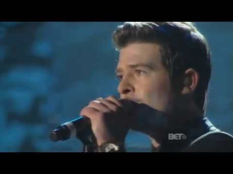Robin Thicke: Sex Therapy on Soul Train Music Awards 2009