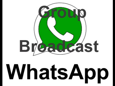 WhatsApp Grupo o Difusion