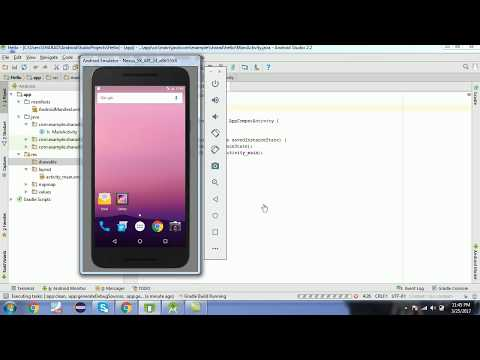 Creating First Android Application on Android Studio In Hindi #2