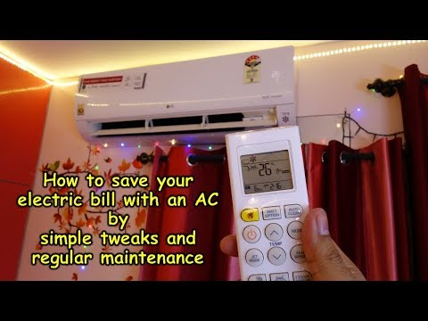 How to save on electric bill with an AC (simple tweaks and maintenance tips)