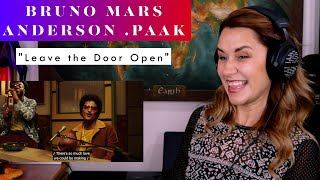 """Download Bruno Mars, Anderson .Paak, Silk Sonic """"Leave the Door Open"""" REACTION & ANALYSIS by Vocal Coach"""