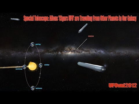 Special Telescope: Aliens 'Cigars UFO' are Traveling From Other Planets, Our Galaxy