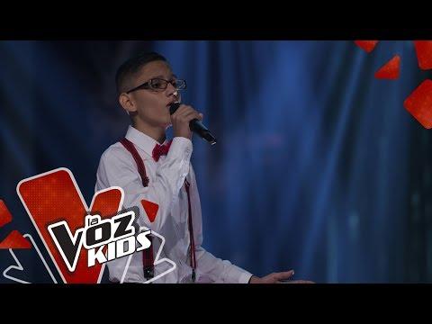 Miguel Ángel Canta Te Quiero, Te Quiero – Audiciones A Ciegas   La Voz Kids Colombia 2019