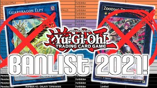 Yu-Gi-Oh! Official July 2021 TCG Banlist Changes! LIVE REACTION!