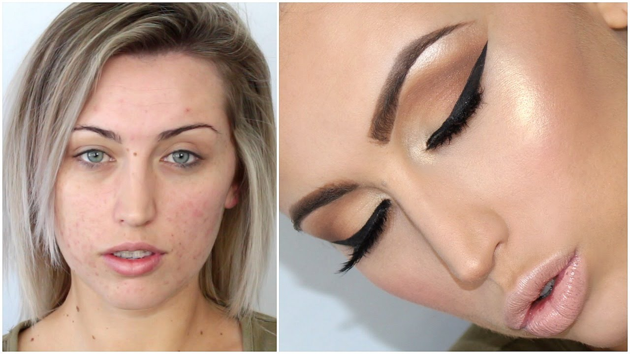 Covering acne makeup tutorial youtube.