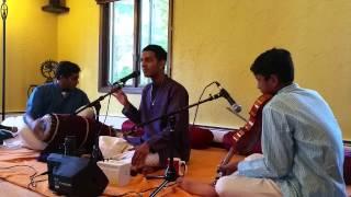 1   Amma Anandadayini   Gambheera Nattai   Adi - Yash Ravish Violin