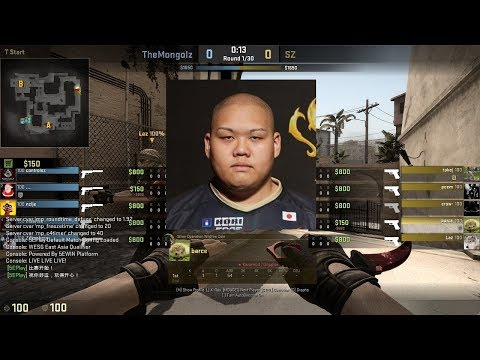barce 24-12 POV / SZ Absolute vs TheMongolz / Mirage / WESG 2017 East Asia