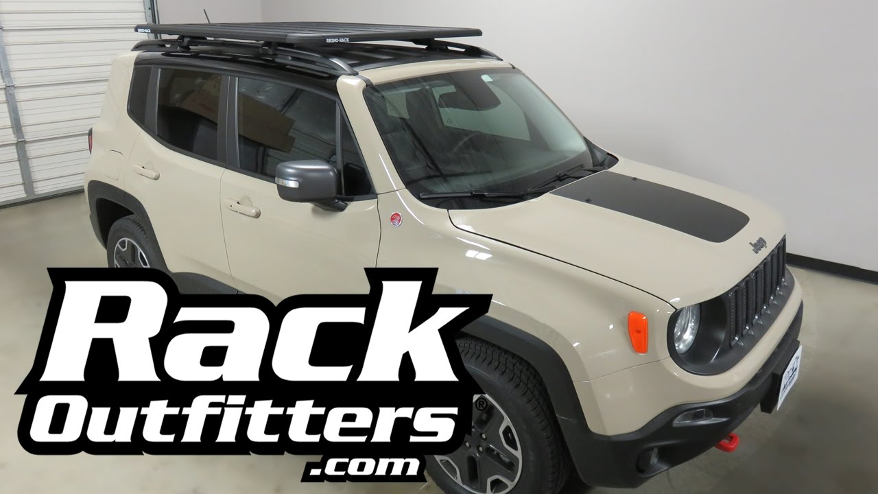 Jeep Renegade Outfitted with Rhino Rack Pioneer SX
