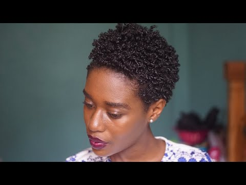 Defining my Kinks   How I style my natural TWA