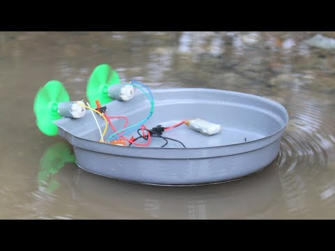 How To Make A Boat With Remote Control