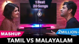 Tamil Vs Malayalam Mashup   Joshua Aaron   ft. Svara